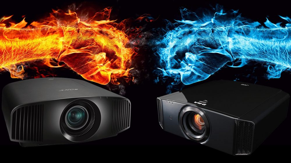 Comparison Review: JVC DLA-X7900 og Sony VPL-VW360ES