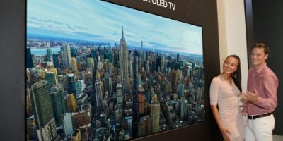 LG introduces world's first 8K OLED TV at IFA