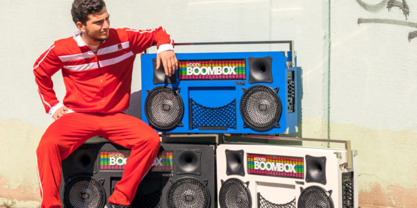 6 wireless boomboxes