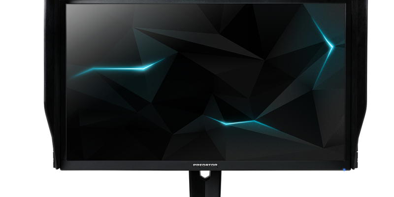 The Predator XB273K Monitor