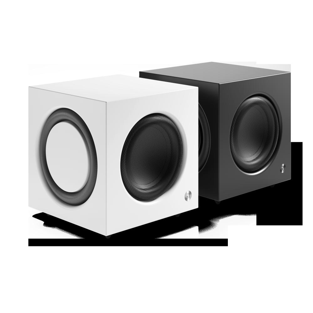 Audio Pro SW-10, white and black