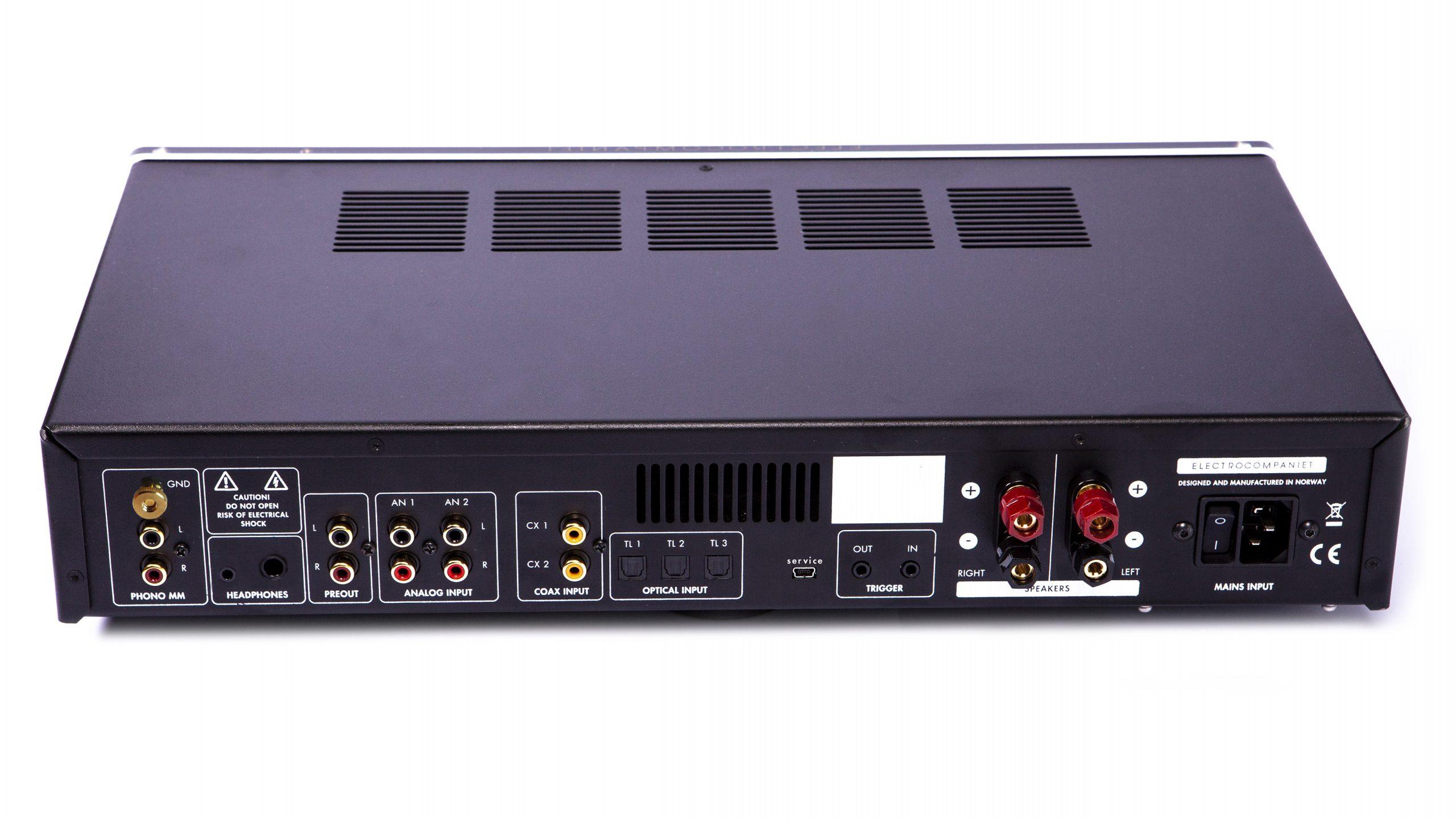 Electrocompaniet ECI 80D rear