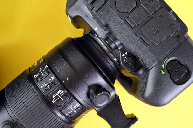 Nikon D6 AF setting