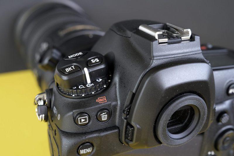 Nikon D6 drivehjul