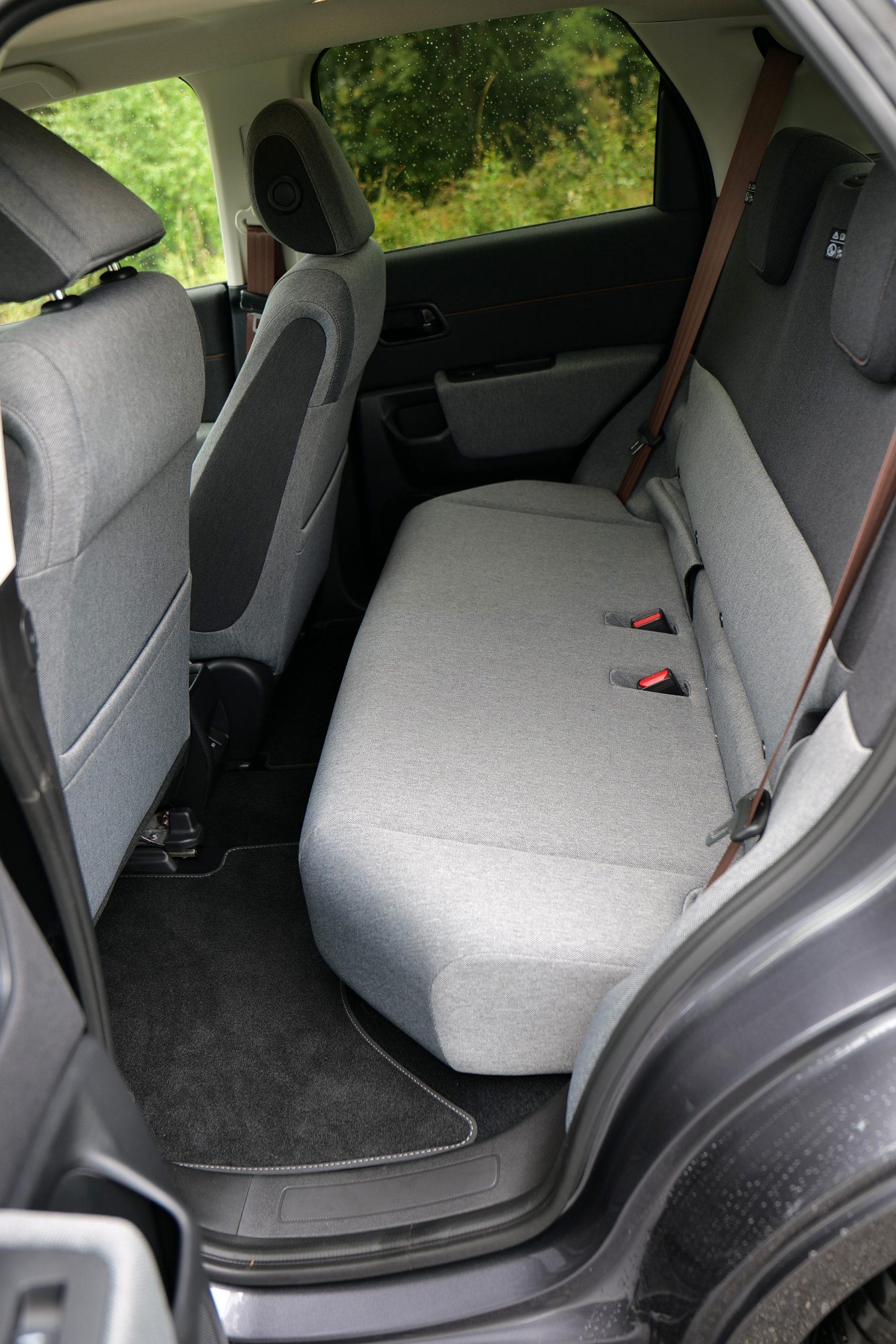 Honda e backseats