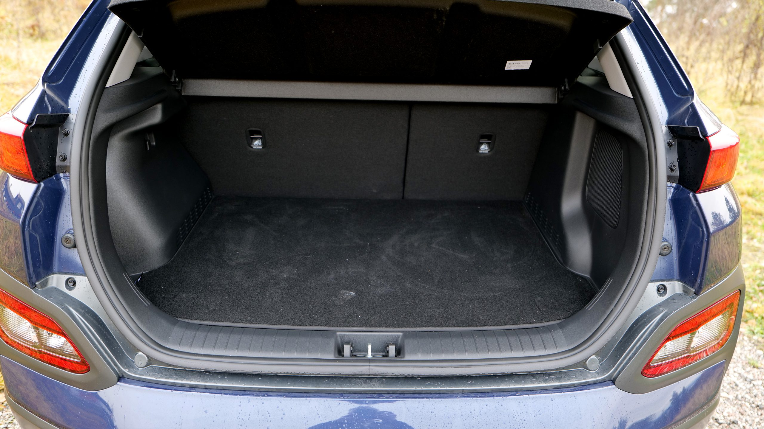Hyundai Kona Electric trunk