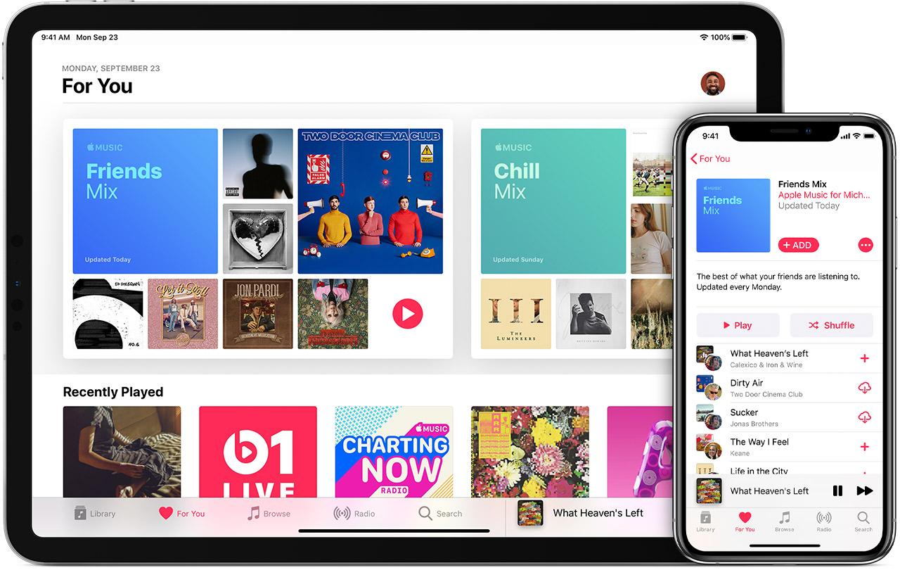 Apple Music lossless streaming strømming